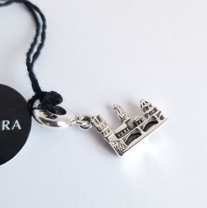Pandora CHARLES BRIDGE PRAGUE #791516 Silver New